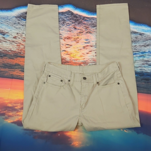 Levi's 502 khaki jeans 29x32